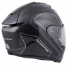 EXO-ST1400 Carbon Motorcycle Helmet Antrim Graphic Grey Rear View