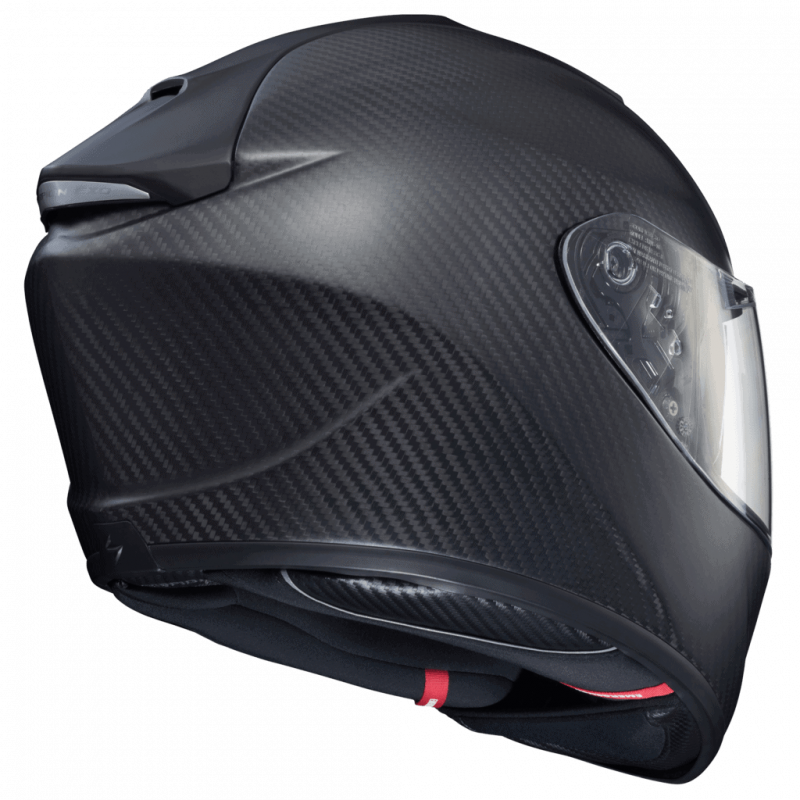 EXO-ST1400 Carbon Fiber Motorcycle Helmet Rear View