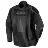 Scorpion Exo Abrams abrasion resistant motorcycle riding shirt showing armor pockets inside