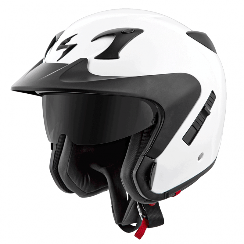 Matte Black//One Size Scorpion EXO-CT220 Peak Visor Street Motorcycle Helmet Accessories