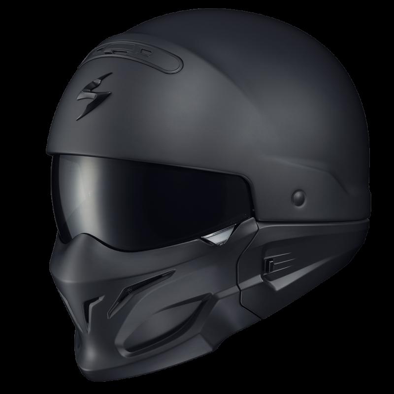 Matte Black All Sizes Scorpion EXO Covert X Modular Helmet