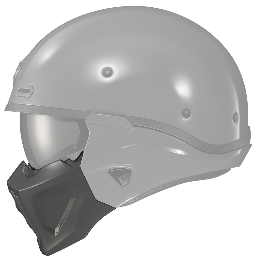 CovertX-Facemask-Cement-Grey-Side